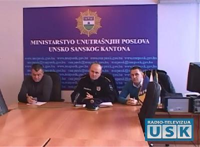 Press predstavnika Sindikata Policije USK