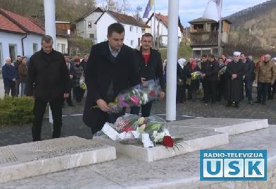 U Starom Majdanu obilježena 25. godišnjica pogibije Amira Žilića