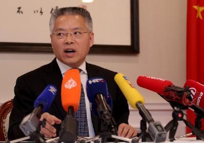 VELEPOSLANIK NARODNE REPUBLIKE KINE: OČEKUJEM DA ĆE KINESKA KOMPANIJA USKORO POČETI SA IZGRADNJOM PELJEŠKOG MOSTA