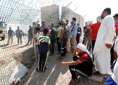 IRAK: DEMONSTRANTI ZATVORILI GRANICU S KUVAJTOM