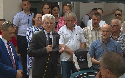 Obilazak Krajine Džaferović počeo u Velikoj Kladuši