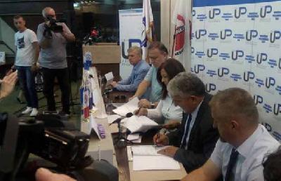 Potpisivanje kolektivnog ugovora u Sarajevu