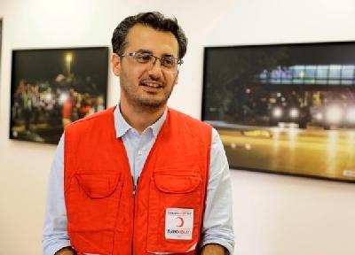 Fuat Emin, predstavnik Turskog polumjeseca u BiH