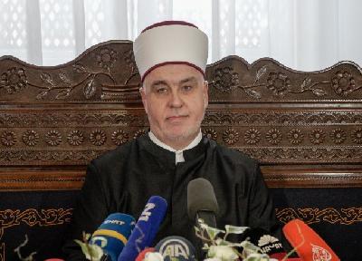 Reisul-ulema Islamske zajednice u BiH Husein ef. Kavazović