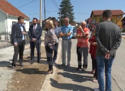 Predstavnici Općine i MEG projekta u Zdeni