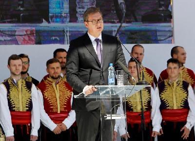 Obraćanjem u Mitrovici završena dvodnevna posjeta Vučića Kosovu