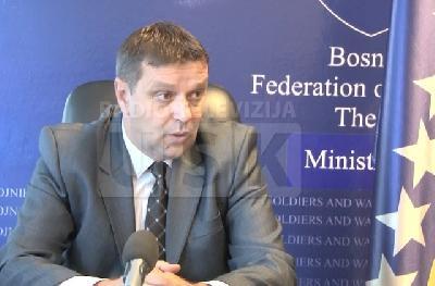 Ministar za pitanja boraca Dževad Malkoč