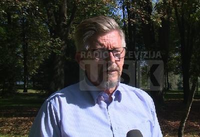 Ale  Hošić, predsjednik Saveza RVI USK