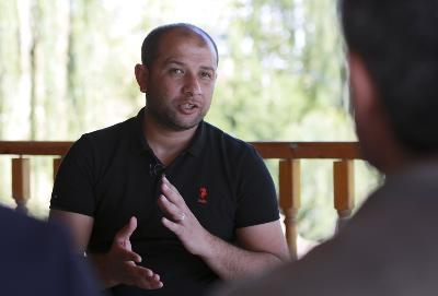 Predsjednik Civilne zaštite Sirije (Bijele kacige) Raid Salih