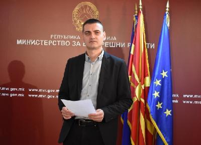 Portparol MUP-a Makedonije Toni Angelovski