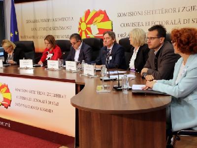 Završeno glasanje u Makedoniji