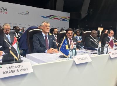 Na samitu Frankofonije učestvuje i predsjednik Kosova Hashim Thaci