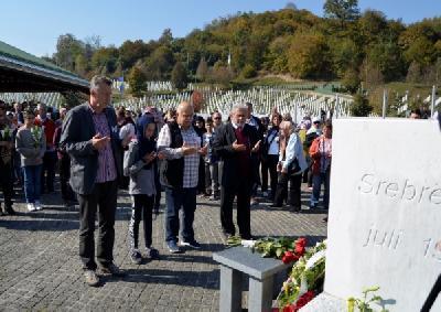 U Srebrenicu došlo 340 Bošnjaka i njihovih prijatelja iz cijele Hrvatske