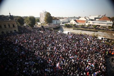 U Vukovaru održan protest zbog neprocesuiranja ratnih zločina