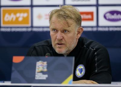Robert Prosinečki, selektor nogometne reprezentacije Bosne i Hercegovine
