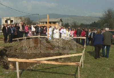 Svečanost na rimokatoličkom groblju u Bos. Petrovcu