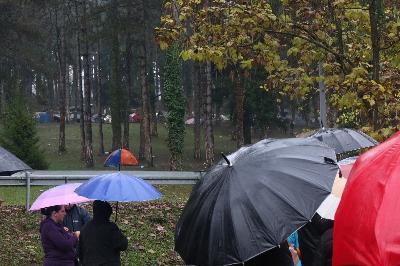 Zbog lošeg vremena  današnji protesti nisu bili masovni