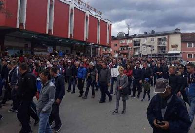 Poručeno kako protest nije protiv migranata, već apel nadležnima da riješe situaciju