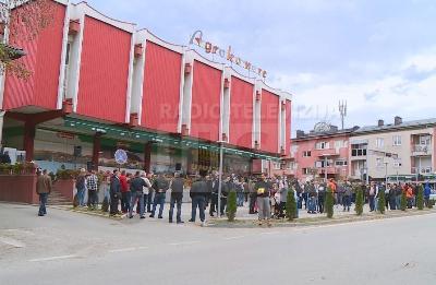 Protestni skup u središtu Velike Kladuše