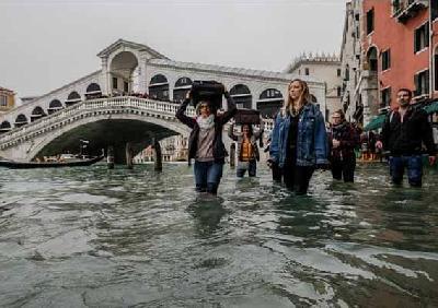 Poplavljena Venecija (Getty Images)
