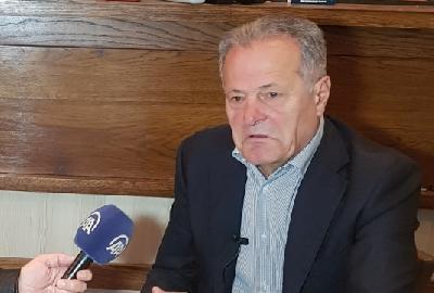 Nenad Bjeković, potpredsednik Fudbalskog saveza Srbije