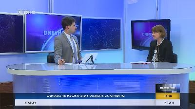 GOST DNEVNIKA: PROF. DR. AMELA ČOLIĆ, PROREKTORA ZA NAUČNO-ISTRAŽIVAČKI RAD I MEĐUNARODNU SARADNJU