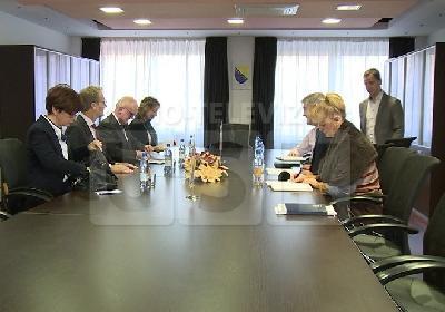 Sastanak visokih gostiju s gradonačelnikom