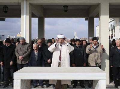 Dženaza-namaz u odsustvu za Jamala Khashogija u Istanbulu