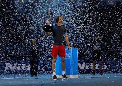 Zverev napredovao na četvrto mjesto ATP liste