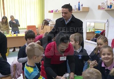 Centar posjetio ministar Damir Omerdić