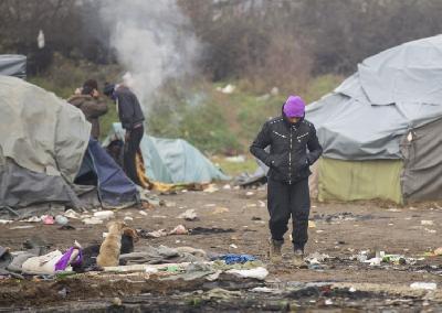 Šatorsko naselje Trnovi privremeno je boravište migranata