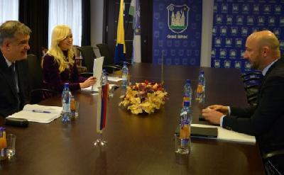Gradonačelnik ugostio slovačkog ambasadora u BiH