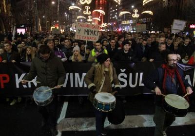 Protest protiv aktuelne vlasti