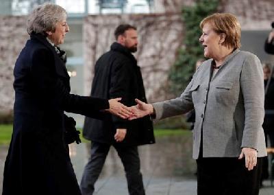 Merkel i May razgovarale u Berlinu