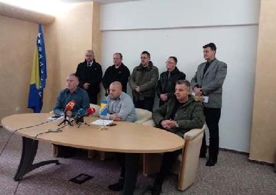 Predstavnici sindikata Željeznica Federacije BiH