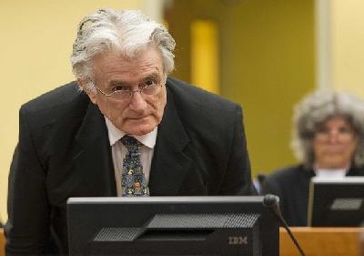 Radovan Karadžić, osuđeni ratni zločinac