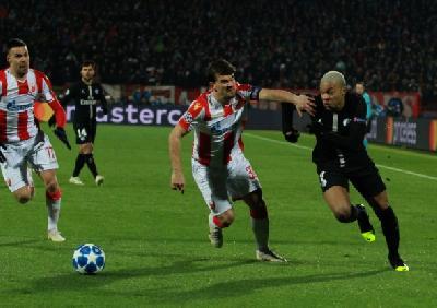 Odbrana Crvene zvezde primila ukupno 17 golova