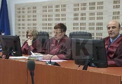 Izricanje presude u Kantonalnom sudu