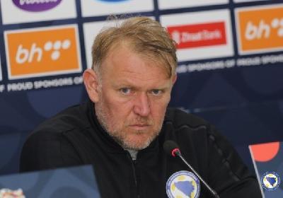 Robert Prosinečki, selektor nogometne reprezentacije BiH