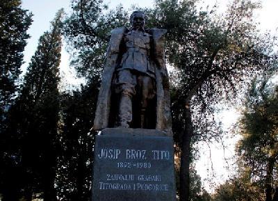 Spomenik Titu u Podgorici