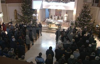 Misa ponoćka u crkvi sv. Ante Padovanskog
