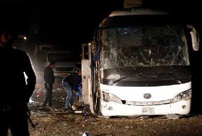 Autobus s turistima naletio na eksplozivnu napravu