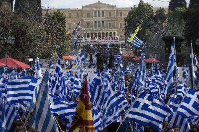 MASOVNI PROTESTI I NEREDI U GRČKOJ ZBOG SPORAZUMA S MAKEDONIJOM