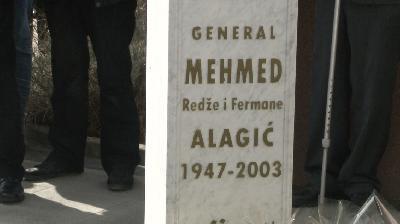 SANSKI MOST: OBILJEŽENA 16-A GODIŠNJICA SMRTI GENERALA MEHMEDA ALAGIĆA