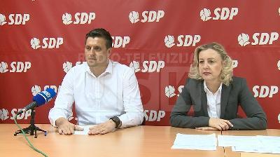 GO SDP BIHAĆ -  POTEZ DRŽAVNE VLASTI JE SRAMOTAN