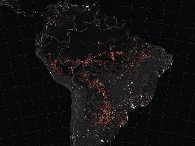 NASA OBJAVILA FOTOGRAFIJE POŽARA U AMAZONU