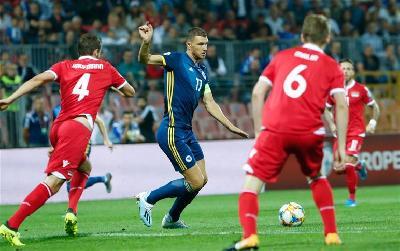 KVALIFIKACIJE ZA EURO 2020: BIH NA BILINOM POLJU POBIJEDILA LIHTENŠTAJN SA 5:0
