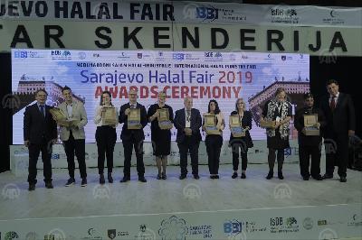 DODIJELJENE NAGRADE NA SARAJEVO HALAL FAIRU 2019