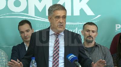 PRESS KONFERENCIJA POMAK-A: EKONOMSKO-POLITIČKA PLATFORMA 10 ZA BIHAĆ