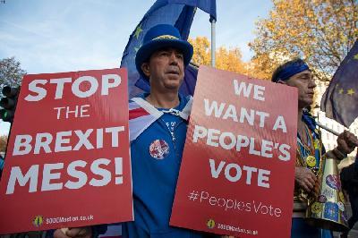 LONDON: NA ULICE IZAŠLI PROTIVNICI BREXITA, TRAŽE OSTANAK U EU